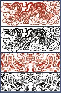 龙纹图案古典素材