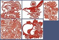 传统古典动物图案