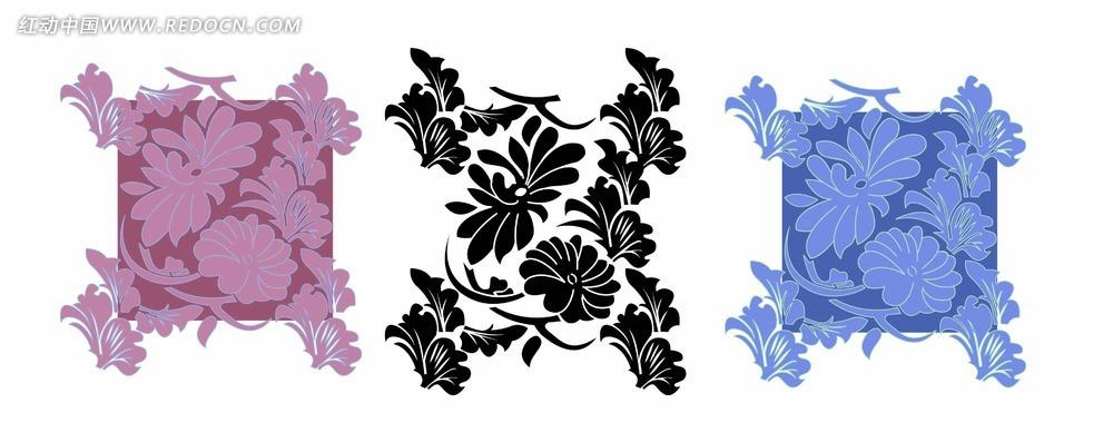 地毯花纹背景设计