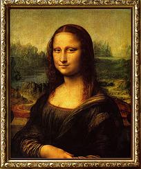 蒙娜丽莎油画装饰画