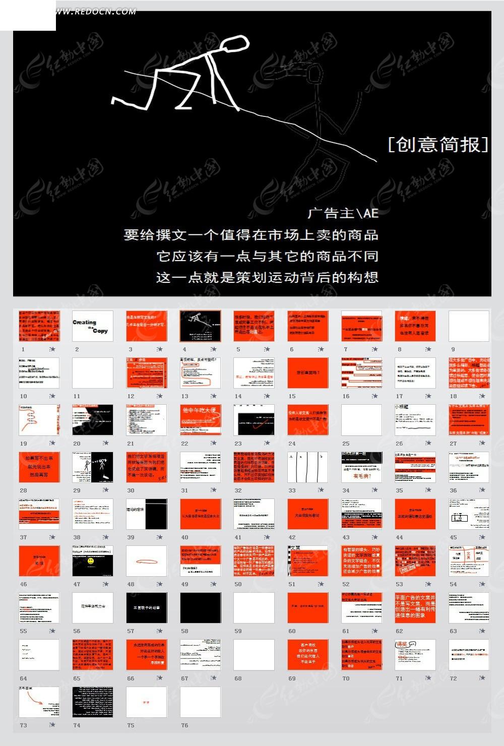 奥美广告文案写作培训材料ppt素材免费下载 编号3045504 红动网