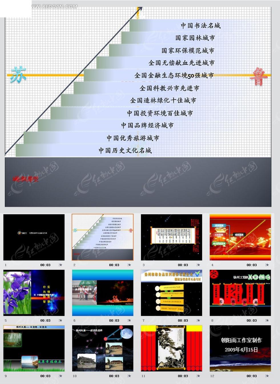 徐州ppt模板图片