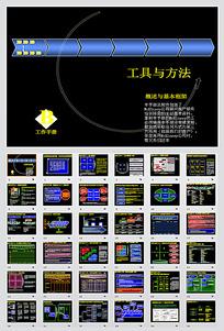 工具与方法内部工作手册ppt模板 中国联通vi手册ppt模板