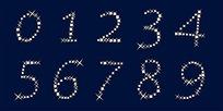 高档璀璨钻石的数字设计素材