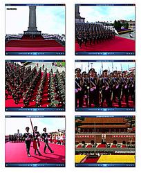 天安门国庆升旗视频