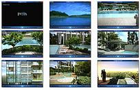 地产开发效果视频素材