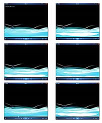 蓝色海洋演示视频素材