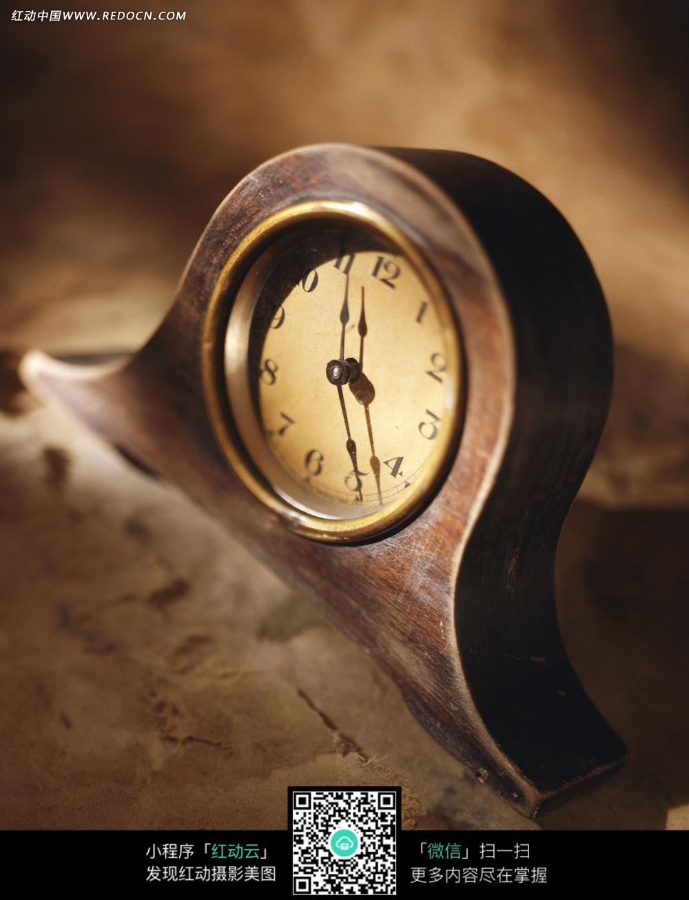 时钟 时间 木头 圆形