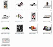 鞋子图标设计图片