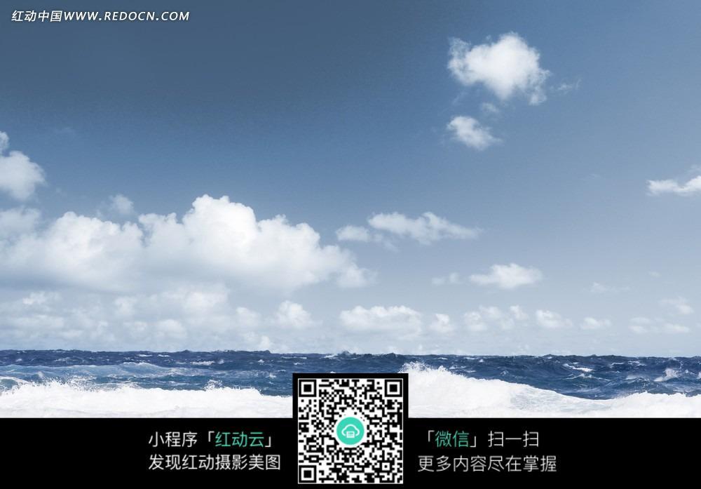 蓝天白云大海图片_男性男人图片