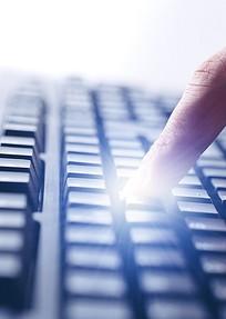 手指键盘商务素材