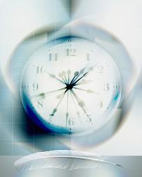 玄幻的时钟图片