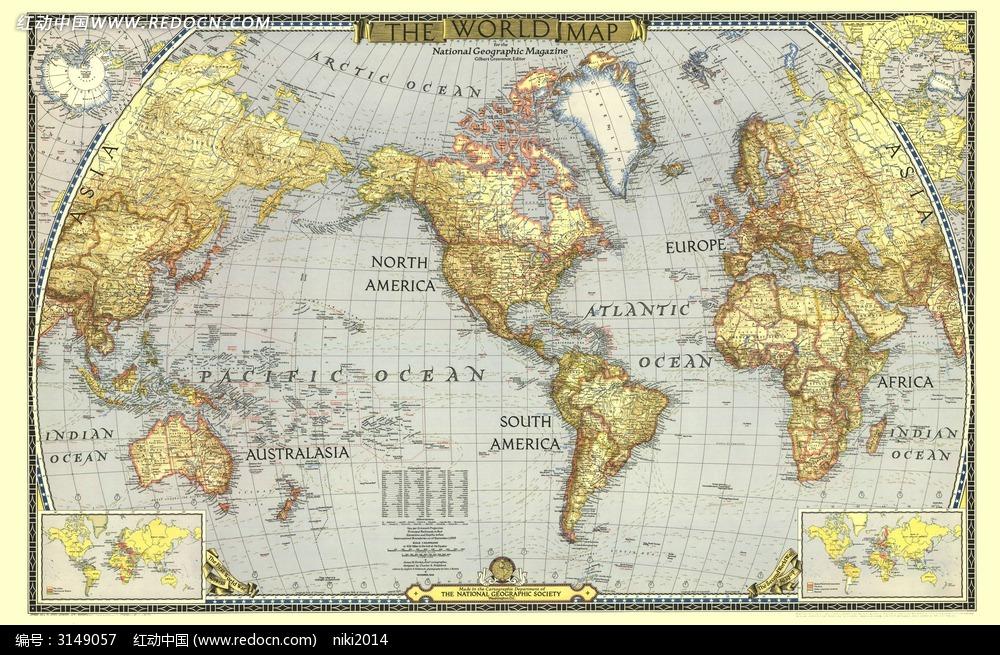 世界地图图片图片