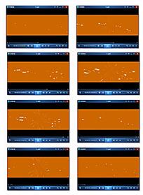 粒子反射光视频