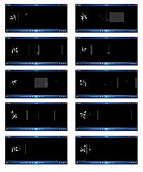 动态光效花纹背景视频