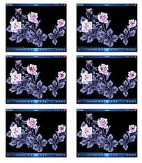 花纹葬礼视频素材