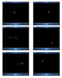 金色粒子动态视频