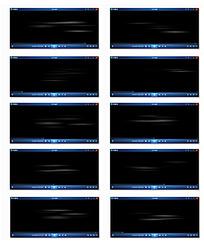 横纹粒子光效背景视频
