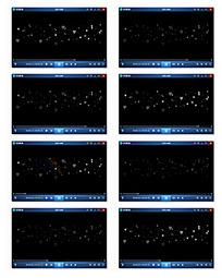 粒子爱心背景视频