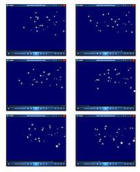 动态圆点粒子视频
