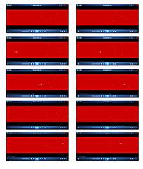 红色背景光点移动FLASH制作视频