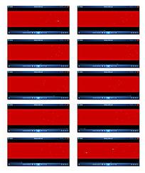 红底光斑视频素材