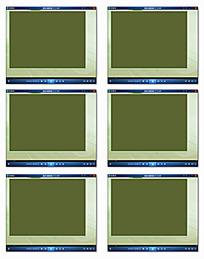 绿色简约边框视频