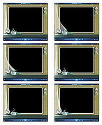 电子相册模板