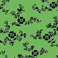 矢量传统花纹花卉素材