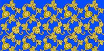 传统葫芦花纹底纹素材