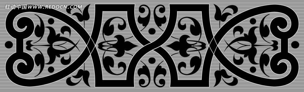 古典中式花纹图片-中式花纹