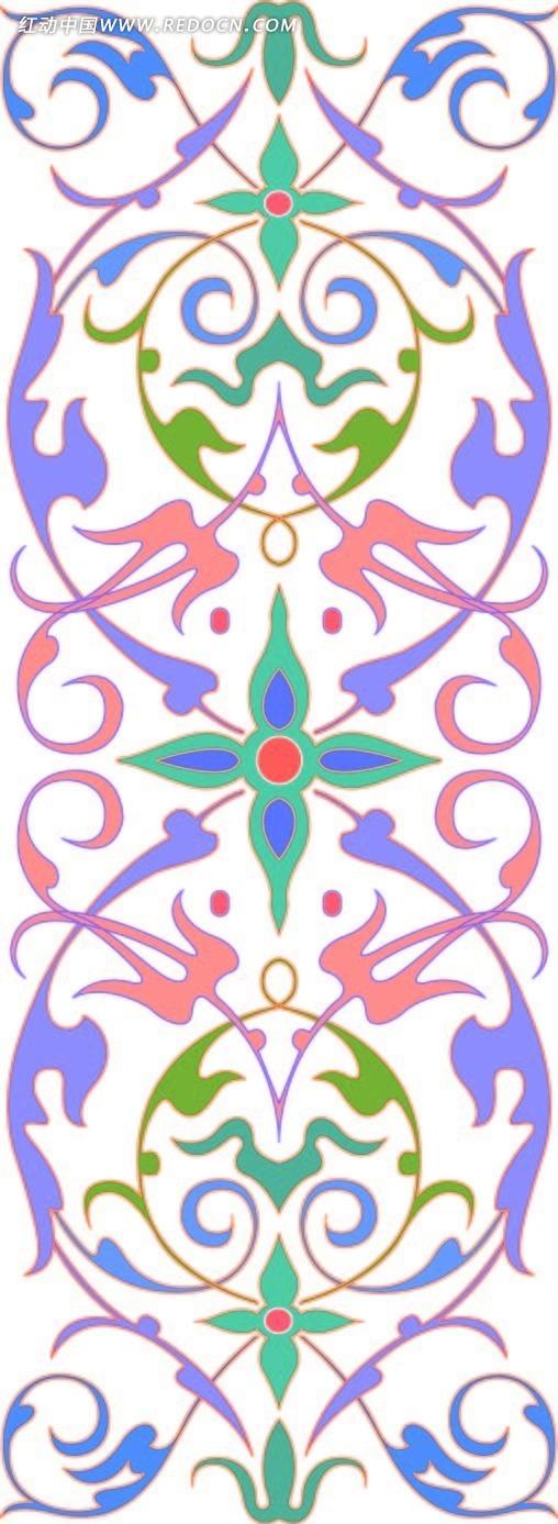 小学边框漂亮手绘竖版彩色