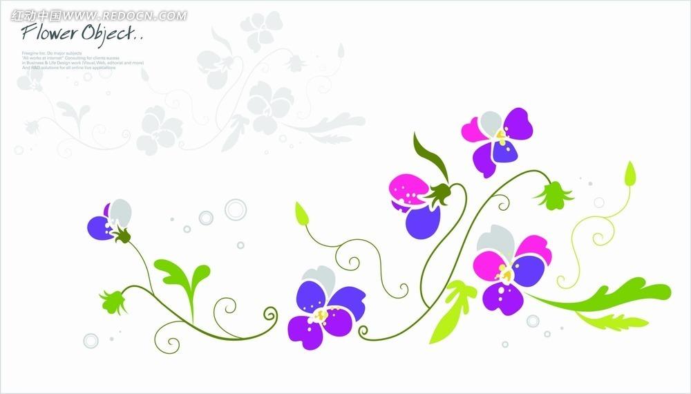 免费素材 矢量素材 花纹边框 花纹花边 手绘花纹底纹设计  请您分享