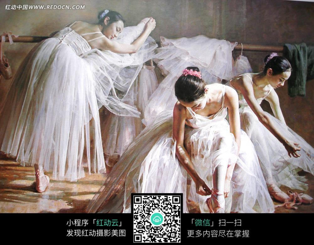 练舞的女孩无框画v女孩守望(下载:3173003)玩编号的女生先锋图片