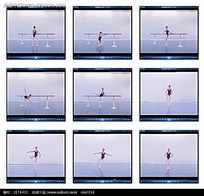 芭蕾舞旋转视频