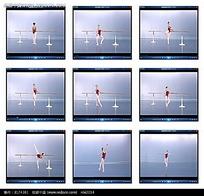 芭蕾舞学习练习视频