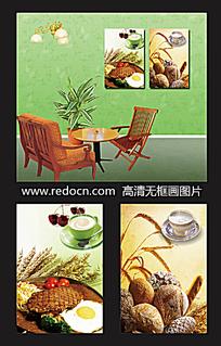 餐厅食物装饰画