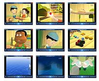 3D小朋友动画视频