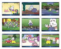 卡通兔子动画视频