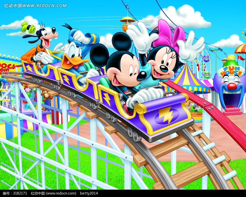 迪士尼乐园过山车
