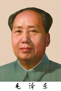 毛泽东人物画像
