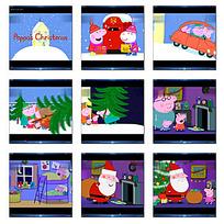 卡通圣诞节视频