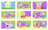 小猪家庭之乐器动画视频mov