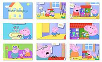 小猪家庭之蜘蛛的房子动画视频mov