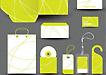 黄色动感曲线VI系统设计