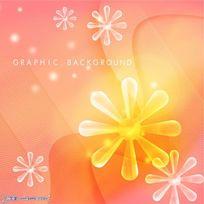 晶莹高清的小碎花朵PSD背景素材下载花纹背景