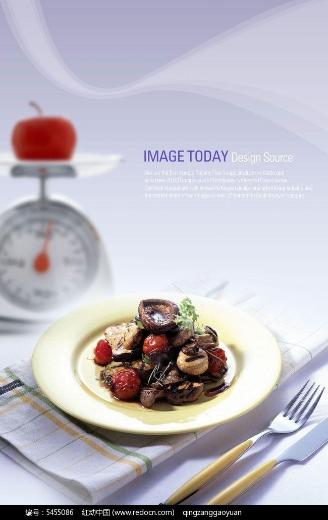 红动网提供海报设计精美素材免费下载,您当前访问素材主题是西餐菌菇
