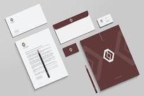 企业VI设计模板psd素材