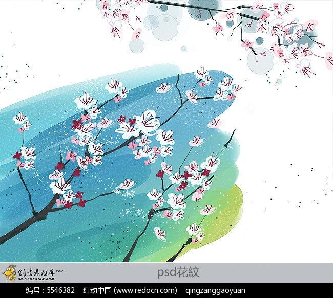 美丽中国手绘花地图