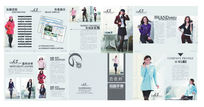 品牌服装招商加盟画册PSD素材